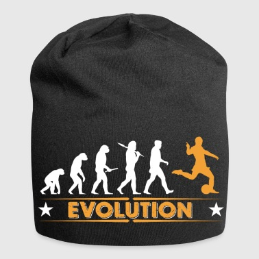 Fussball Evolution - orange/weiss - Jersey-Beanie