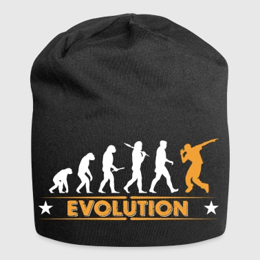 HipHop break dance evolution - naranja/blanco - Gorro holgado de tela de jersey