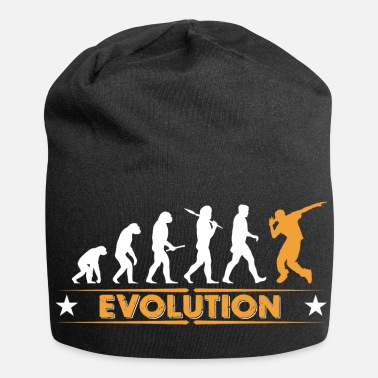 Break-dance HipHop break dance evolution - naranja/blanco - Gorro holgado de tela de jersey