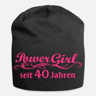 Girl Power Power Girl 40 anni - Beanie in jersey