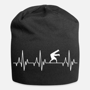 Hip Hop Heartbeat ECG Breakdance Breakdance Hip-Hop - Bonnet en jersey