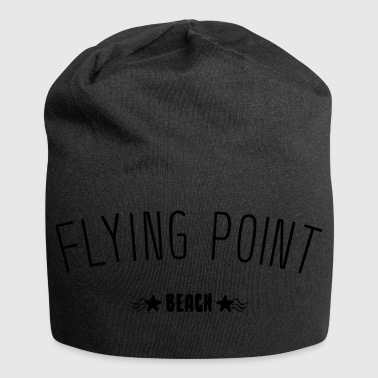 Flying Point Beach idée de cadeau de lettrage - Bonnet en jersey