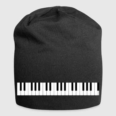 The keyboard of the piano - Jersey Beanie