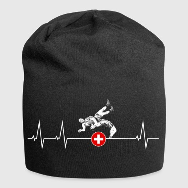 I love swings - Switzerland - Jersey Beanie