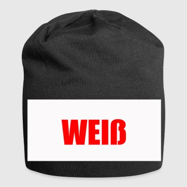 Rood-wit Rood op wit - Jersey-Beanie