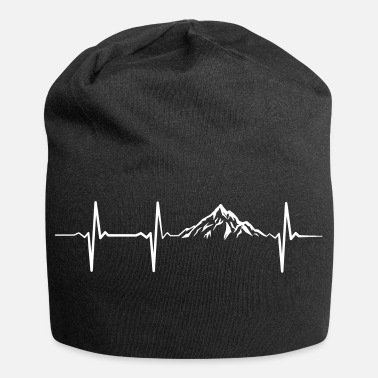 Heartbeat Mountains - Jersey Beanie