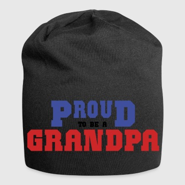 Proud To Be A Grandpa - Jersey Beanie
