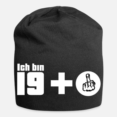 Fuck You J'ai 19 ans + Fuck You Muttelfinger cadeau - Beanie