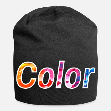Colourful colour - Jersey Beanie