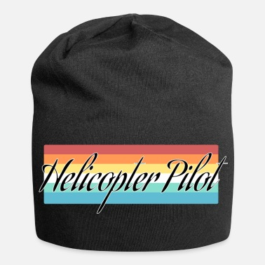 Helikopter helikopter - Jersey-Beanie