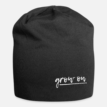 Soulmate MINDSET DESIGN grow on - Jersey Beanie