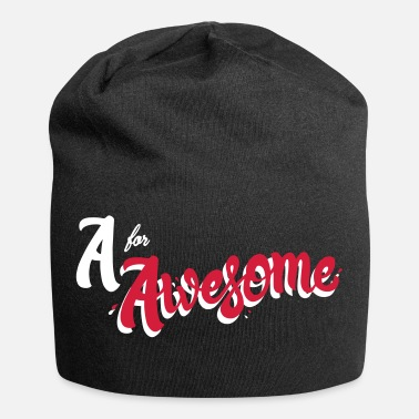 Awesome A for Awesome - Beanie