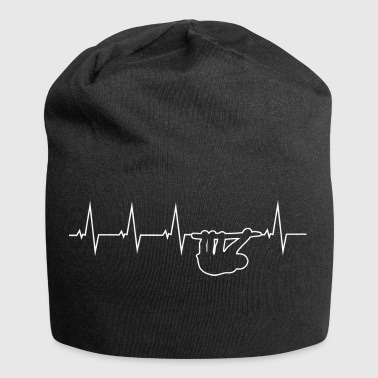 Sloth Sloth - heartbeat - Jersey Beanie