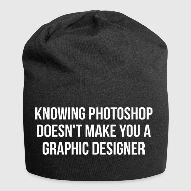 Savoir Photoshop - Conception graphique Joke - Bonnet en jersey