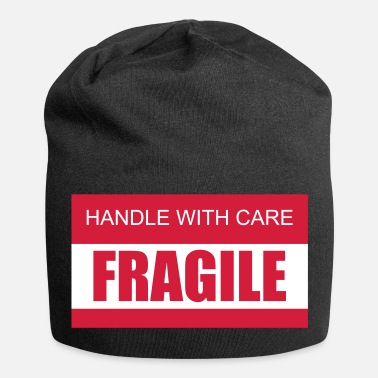 Care FRAGILE Handle with care 2c - Jersey Beanie