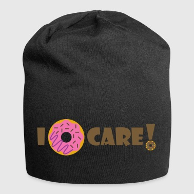 I Donut Care - Beanie in jersey