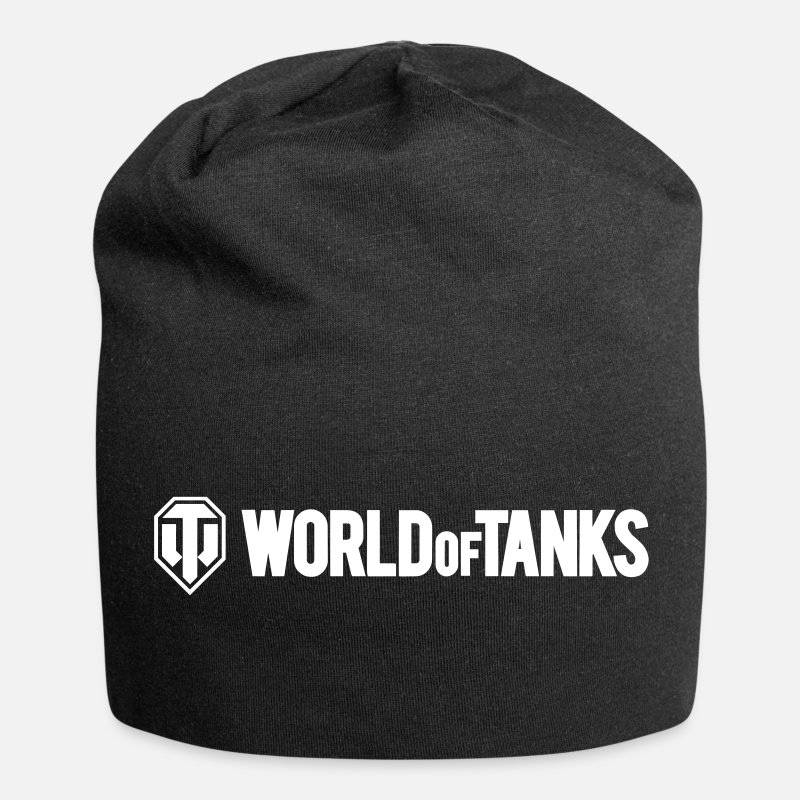 World Caps & Hats - World of Tanks Vector - Beanie black