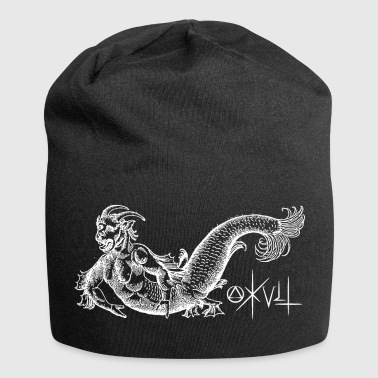 Gothic occult mermaid gift - Jersey Beanie