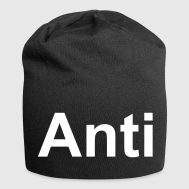 Anti T-shirt an icon for every anti - Jersey Beanie
