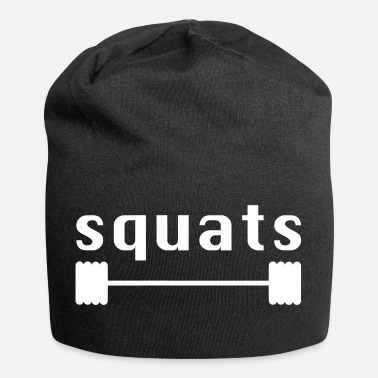 Squat squat - Beanie in jersey