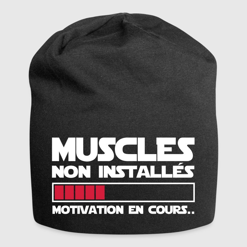 motivation en cours - Bonnet en jersey