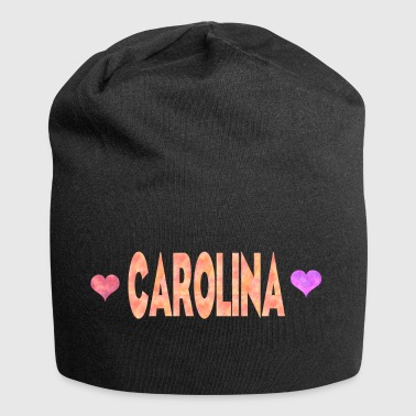 Carolina - Beanie in jersey