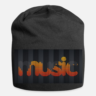 Equalizzatore Equalizzatore musicale - Beanie in jersey