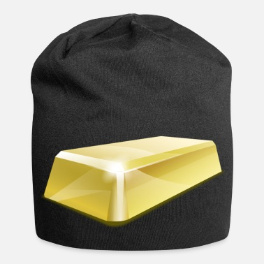 Rush gold bar - Jersey Beanie