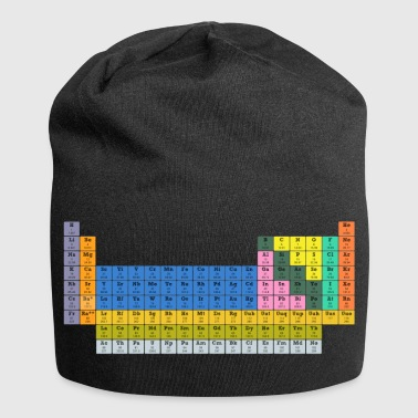 PeriodicTable - Beanie in jersey