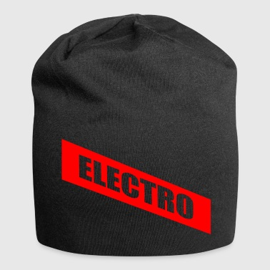 Electro - Beanie in jersey