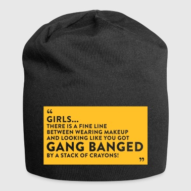 Gangbanged By A Stack Of Crayons - Jersey Beanie