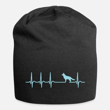 Allemand heartbeat Shepherd Dog Heartbeat cadeau Fun - Beanie