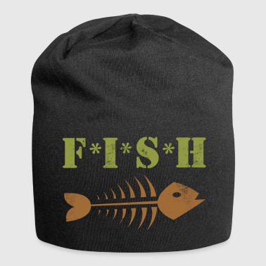 FISH Fishing Fish Bones - Jersey Beanie