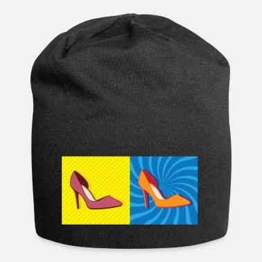 Graphic Art Pop Art / Graphic Novel: Pompen - Vrouwen - Jersey-Beanie