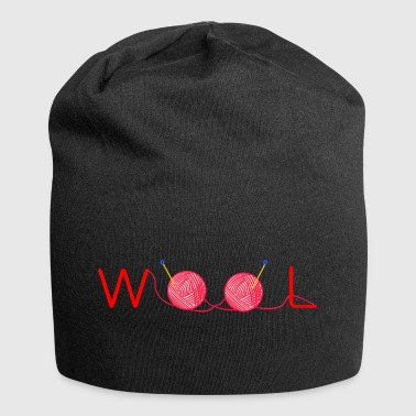 Wolle Wolle - Jersey-Beanie