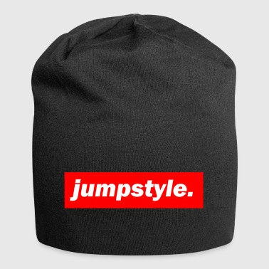 techno mixer red bass bpm jumpstyle - Jersey Beanie