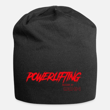 Odin BLESSED BY ODIN powerlifting 3 - Jersey Beanie