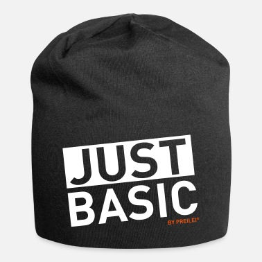 Just Just BASIC - Beanie in jersey