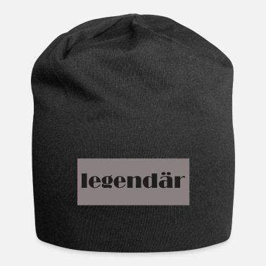 Legendär legendär - Jersey-Beanie