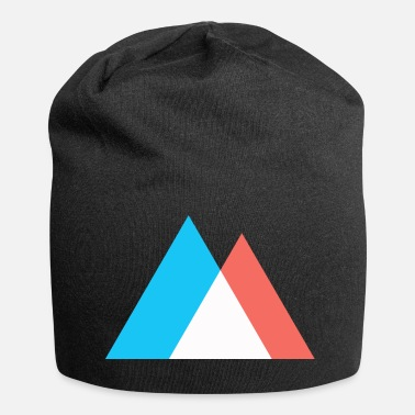 Pop Art Mountains Abstract Pop Art Art - Jersey Beanie
