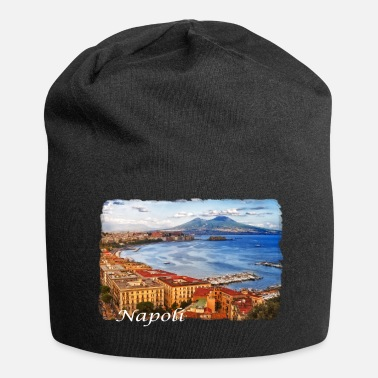 Naples The Bay of Naples - Jersey Beanie