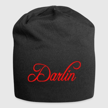 Darling Darlin Darling rouge rouge - Bonnet en jersey