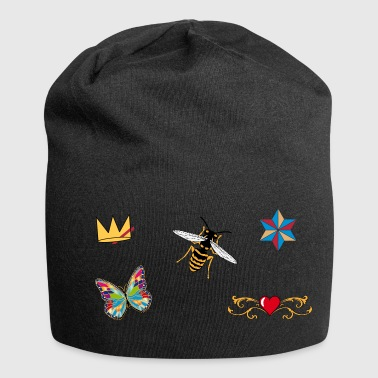 Bee patch - Jersey Beanie