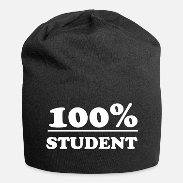 Università Regalo 100% Studente Università Università - Beanie in jersey