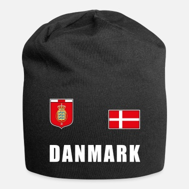 Fan De Foot Maillot de foot du T-shirt de football du Danemark Fan de Jersey - Bonnet en jersey