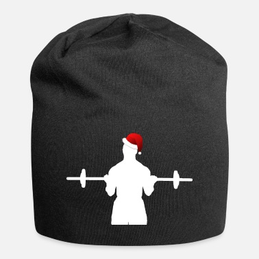 Christmas Fitness Sports Christmas Christmas - Jersey-Beanie