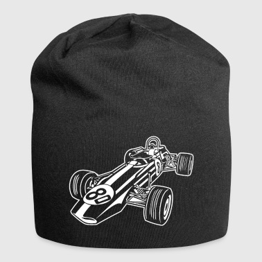 Race Car / Race Car 02_white - Jersey Beanie