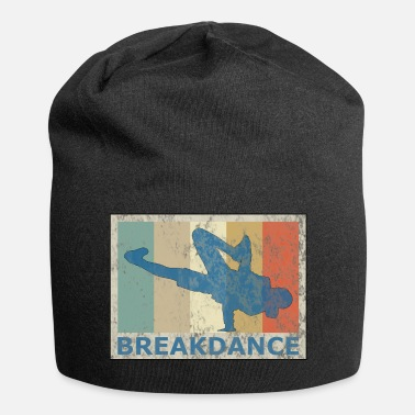 Breakdance Estilo vintage retro breakdance breakdance hip hop - Gorro holgado de tela de jersey
