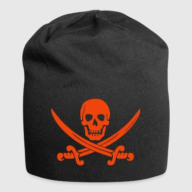 Crâne de pirate - Bonnet en jersey