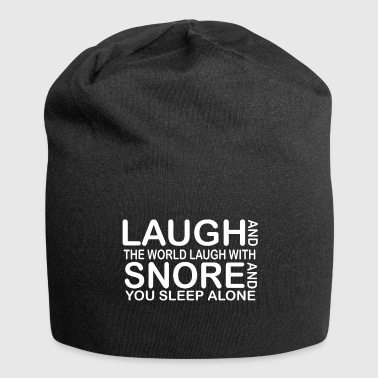 funny laught quotes - Jersey-Beanie